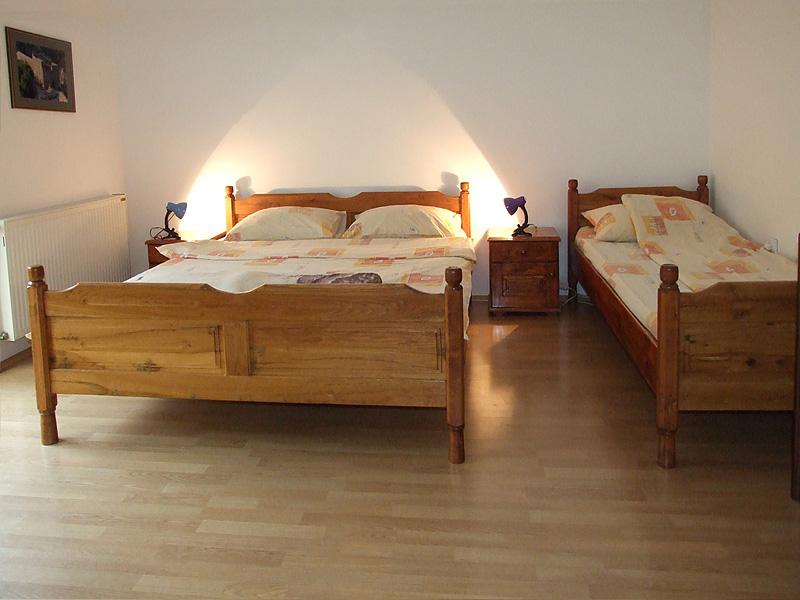 spavaća soba u apartmanu u sokobanji